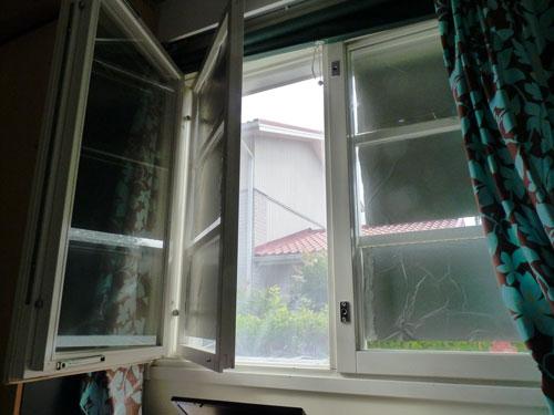 Makuuhuoneeni ikkuna