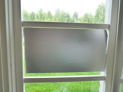 Vaihe 9: Ensimmäinen ikkunaruutu valmiina
