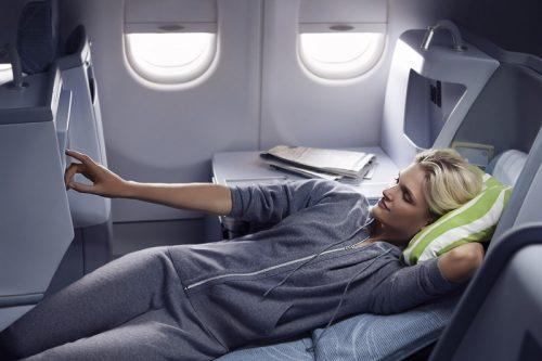 Pisteillä pääsee vaikka tänne (Kuva: Finnair)