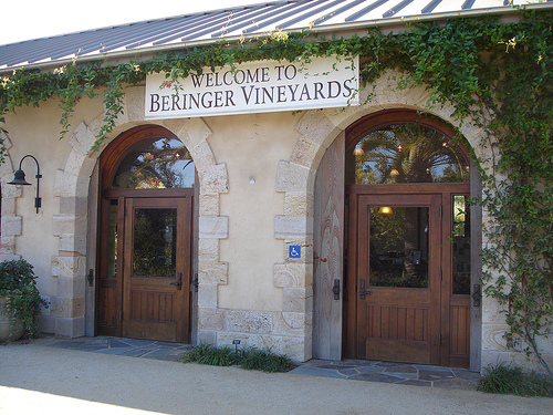 Matka Beringerin viinitilalle: priceless (Flickr: jimg944)
