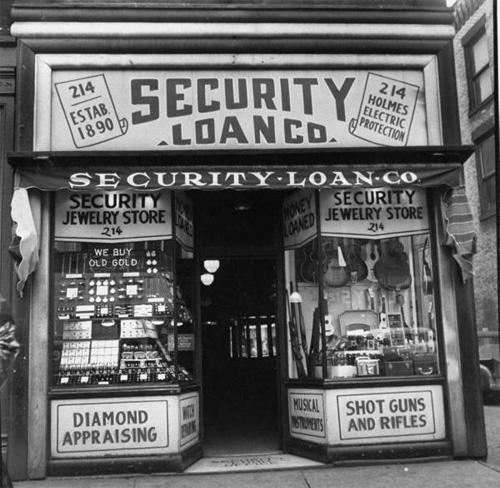 Pikavippifirma vuodelta 1953 (Lähde: Life)