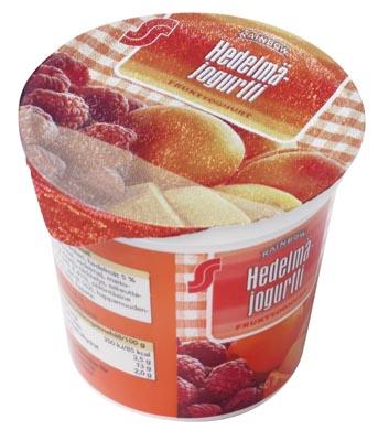 S-Marketin oma Rainbow-merkkinen jogurtti
