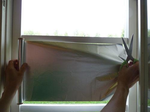 Vaihe 5: Mittaa sopiva pätkä alumiinifoliota