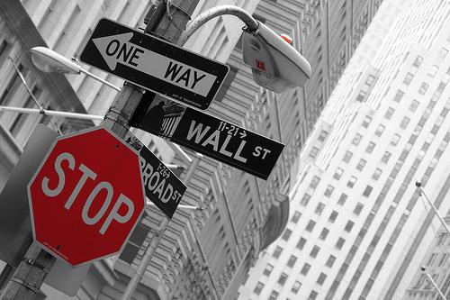 Wall Street kutsuu (Flickr: nromagna)