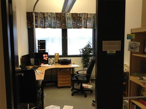 Tarkan markan toimisto Hämeenlinnan Visamäen Innoparkissa