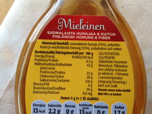 Mieleinen hunaja vai epämiellyttävä lisäaine?