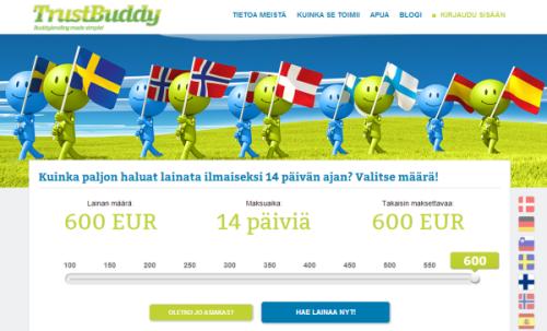 Trustbuddy.comin etusivu