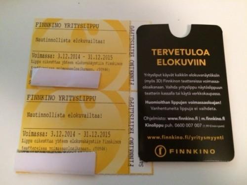 Finnkino Liput Lahjaksi