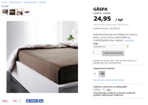 Oletko tympääntynyt Ikean käsikolottomiin pussilakanoihin? - Kymmenet tuhannet vaativat nyt reikiä takaisin