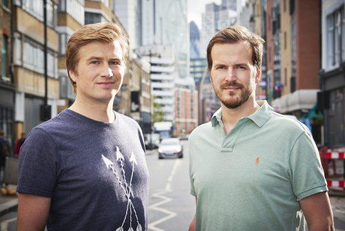 Transferwisen perustajat. Nämä miehet ovat neroja.