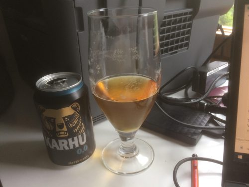 Karhun alkoholiton olut