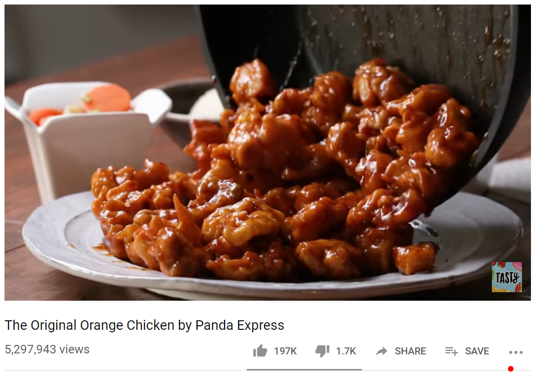 Panda Expressin Orange Chicken -resepti